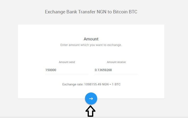 STEP 4: Enter your email address and your bitcoins wallet address then  click the blue arrow. we recommend you copy and paste your bitcoins address  so it is ...