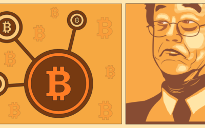 The Bitcoins Story- inforgraphic
