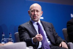 Blankfein Says Too Soon for Bitcoin Plan as Volatility Jumps