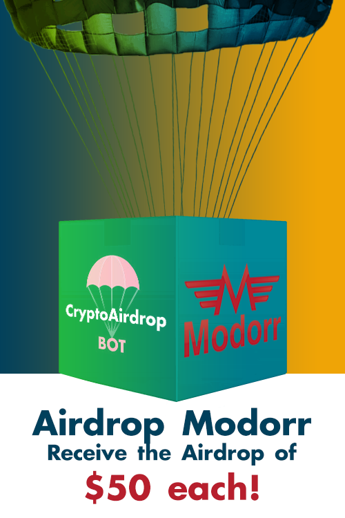Modorr — Receive the Airdrop of $50 each