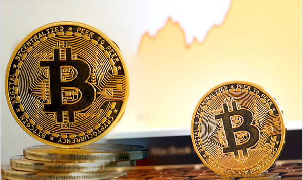 Bitcoin spikes almost $400 in an hour to a two-week high