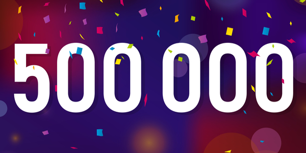 Milestone: 500,000th Euro to XRP Using XRParrot Converted