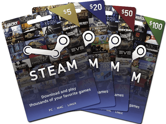 Exchange Steam Wallet Card to Bitcoin in Nigeria